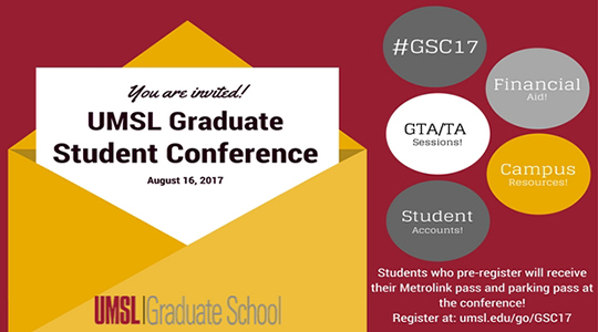 Annual UMSL Graduate Student Conference