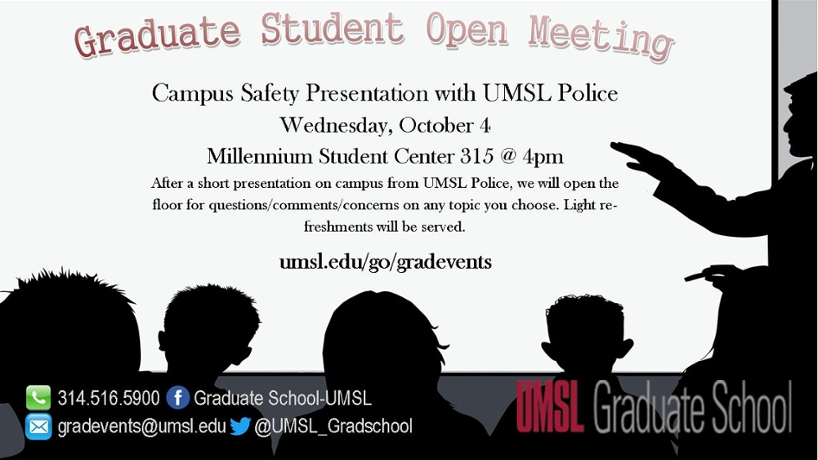 Graduate Student Open Meeting